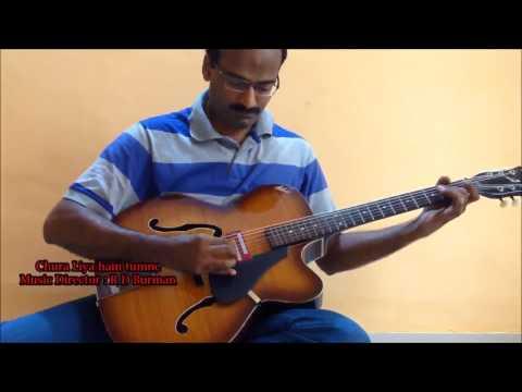 R D Burman (Chand Mera Dil / Chura Liya) guitar instrumental