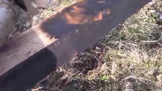 Обработка  древесины от гниения(Обработка древесины от гниения без химии и краски., 2014-10-26T19:19:09.000Z)