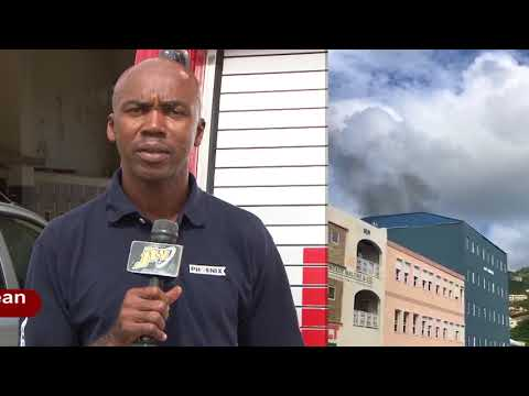 JTV NEWS UPDATE   FIRE EXTINGUISED AT RJT BUILDING IN ROAD TOWN