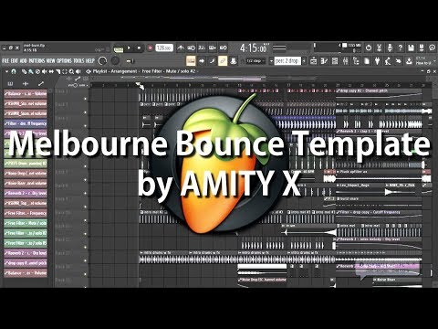Melbourne Bounce Template by AMITY X (Free FLP)