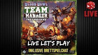 Blood Bowl Team Manager - Live Let
