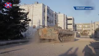 Отбита атака террористов в Алеппо