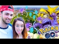 POKEMON GO MADE US MISS OUR FLIGHT!!! (New York Special Episode!!!)