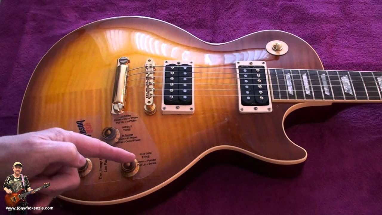 Gibson Jimmy Page Les Paul 1995 Rare Review As You Have Never Seen 500t Wiring Youtube Premium