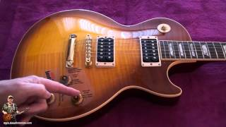 Gibson Jimmy Page Les Paul 1995 RARE Review as you have never seen one - tonymckenzie.com