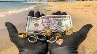 Download I Found 9 Wedding Rings Underwater in the Ocean While Metal Detecting! $10,000+ (Returned to Owner) Mp3 and Videos