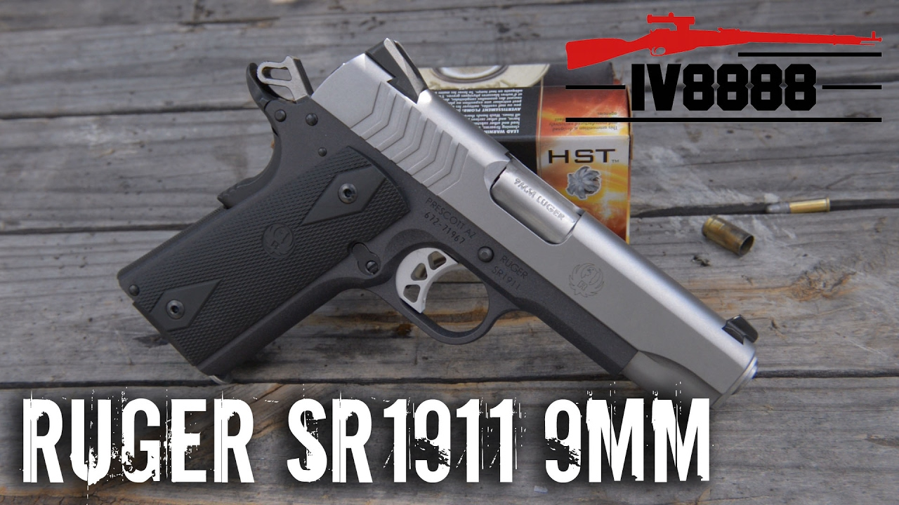 Ruger Sr1911 Lightweight Commander 9mm Youtube