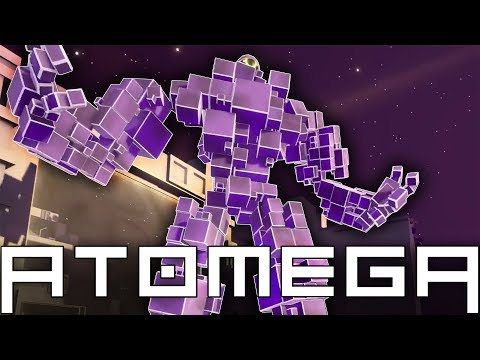 ATOMEGA Gameplay - I Am The Giant OMEGA! - Grow, Fight, Collect - Atomega Multiplayer Gameplay Pt 1
