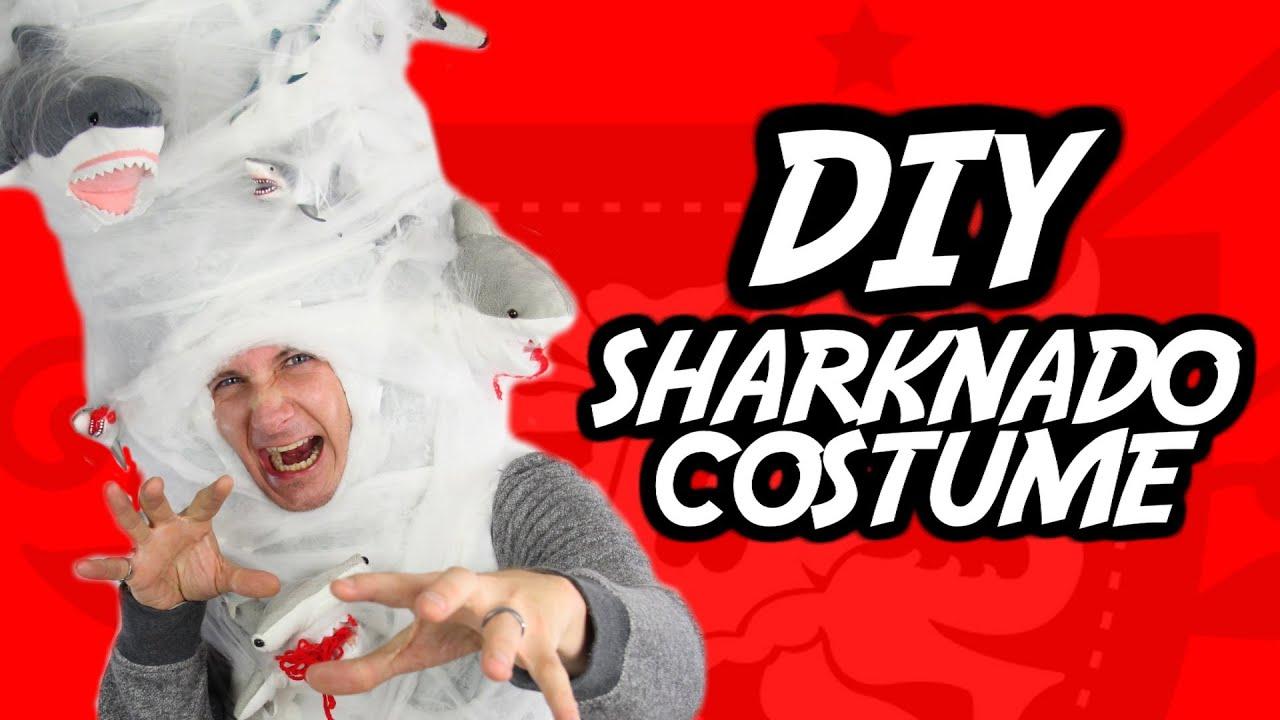 how to sharknado halloween costume youtube