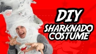 How-To SHARKNADO Halloween Costume!!