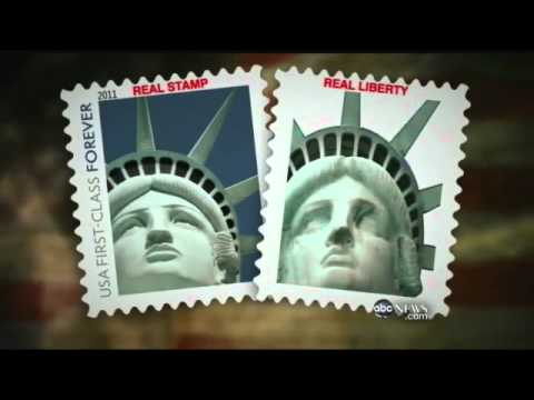 Postal Service Admits The Lady Liberty Stamp Does Not Show Actual Statue