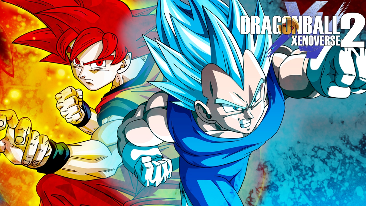 Dragon ball xenoverse 2 25 goku e vegeta super sayajin deus youtube - Photo dragon ball z ...