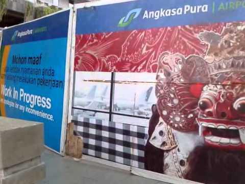 Parking area in Ngurah Rai Airport, Denpasar Bali 2015