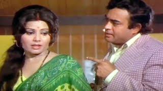 Sanjeev Kumar, Sulakshana Pandit, Uljhan - Emotional Scene 10/21