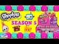 Shopkins Season 5 Surprise 2 Packs Opening Limited Edition Hunt Surprise Egg and Toy Collector SETC