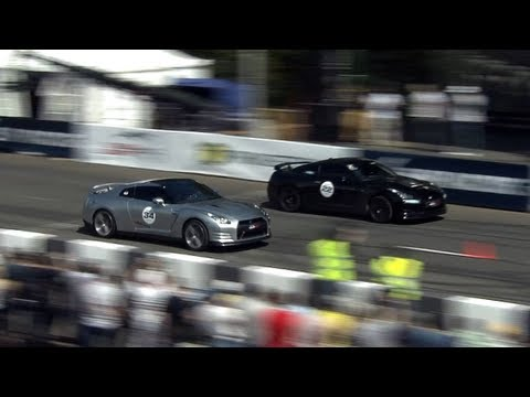 """Nissan GT-R EkuTec Stage 2 — Fastest GT-R in """"Super cars"""" class 2013"""