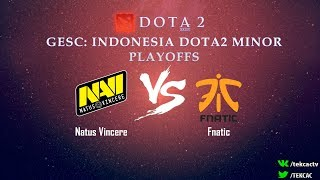 [RU] Natus Vincere vs Fnatic | Bo3 | GESC: Indonesia Dota2 Minor by @Tekcac