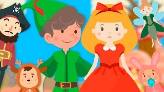 Peter Pan | Cuentos cortos para niños | Cuentos populares