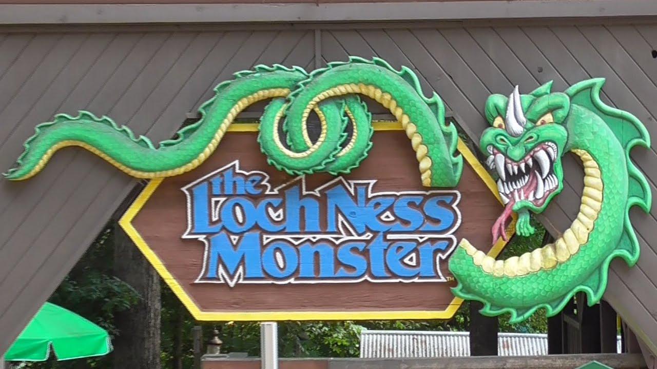 Loch Ness Monster Review HD Busch Gardens Williamsburg   YouTube