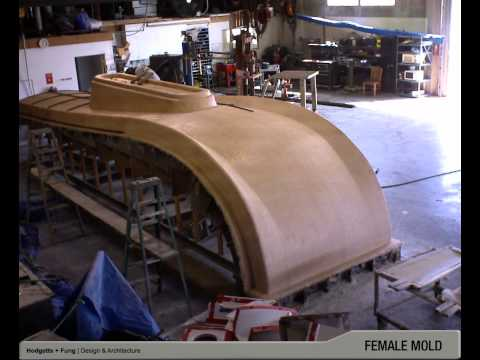 Building Blocks Fiberglass Roof Module: Fabrication