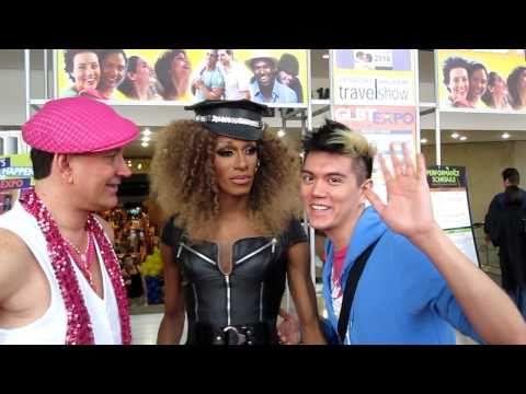 RuPaul's Drag Race Sahara Davenport and Manila Luzon 2010