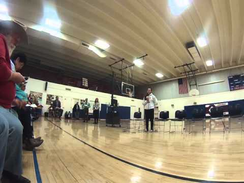 Video 2 from the forum at Capshaw Middle School in Santa Fe, NM