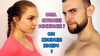 Mężczyzna vs Kobieta na siłowni