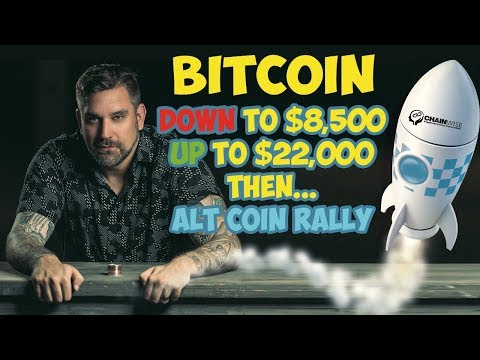 Bitcoin Down To $8500 - Up To $22000 Then Alt Coin Rally To ChainWise