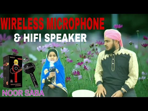 Unboxing Wireless Microphone HiFi Speaker | WS_878 Karaoke Made in China