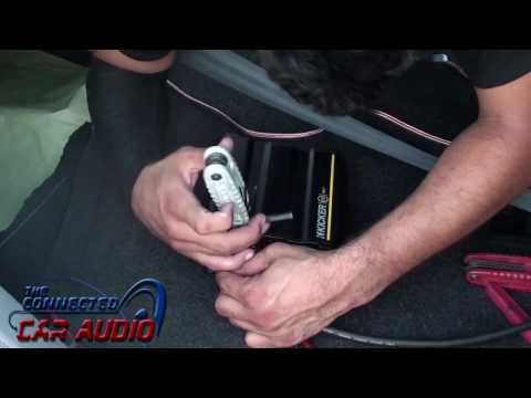 How to install amplifier Hyundai Sonata 2015 and up