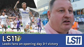 LS11 | Leeds fans react to beating Stoke 3-1 in Bielsa\'s Bow