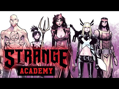 STRANGE ACADEMY #1 Trailer | Marvel Comics