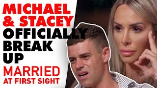 Stacey and Michael officially break up