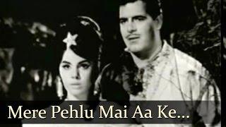 Mere Pehlu Mai Aa - Rustam - E - Hind Songs - Dara Singh - Mumtaz - Mohd Rafi