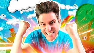 YO TENGO EL PODER en #SuperMarioMaker3DS | Desafio Super Mario
