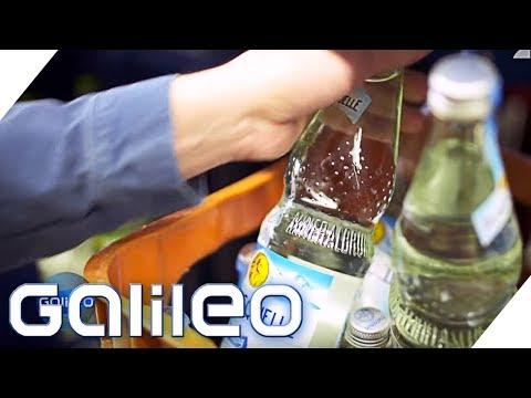 Bio-Wasser: Gibt es Unterschiede in der Wasser-Qualiät   Galileo   ProSieben