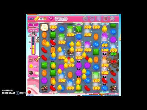 Candy Crush Level 1616 help w/audio tips, hints, tricks