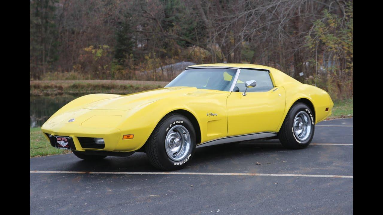 Chevrolet Corvette Stingray >> 1976 Chevrolet Corvette Stingray - YouTube