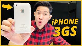 """TRÊN TAY iPHONE 3GS HUYỀN THOẠI - 11 NĂM DÙNG VẪN """"CỰC MƯỢT""""???"""