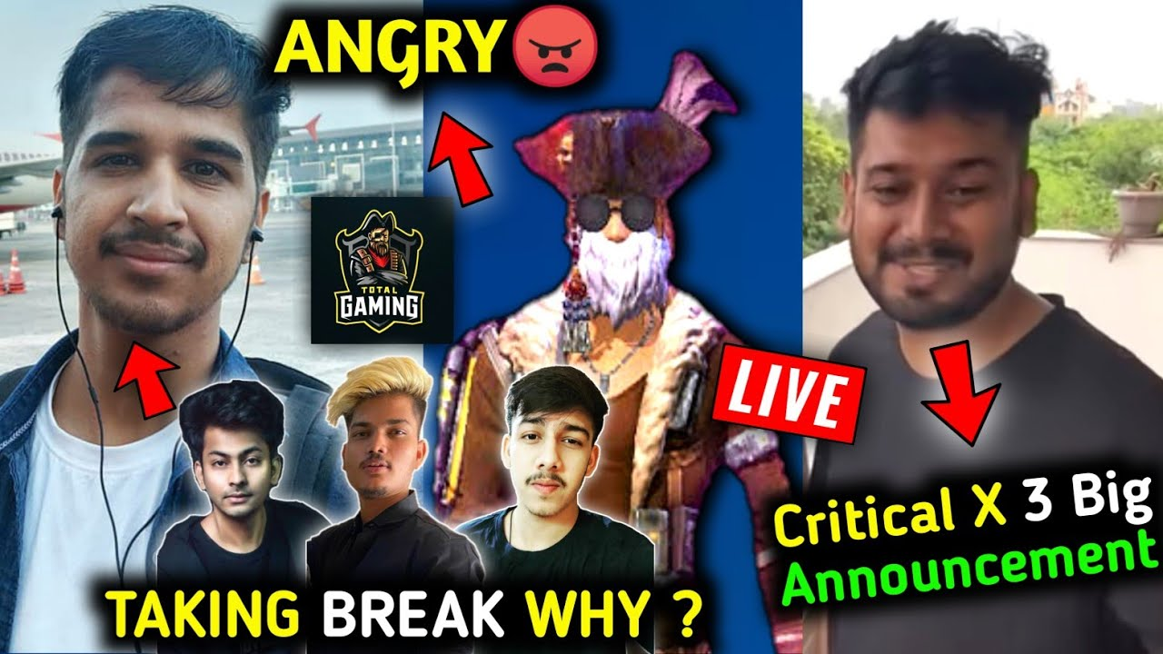 Total Gaming angry on Garena?| CRX Rocky 3 Big news?| Desi Gamers & Dynamo Collab?| TSG Taking B