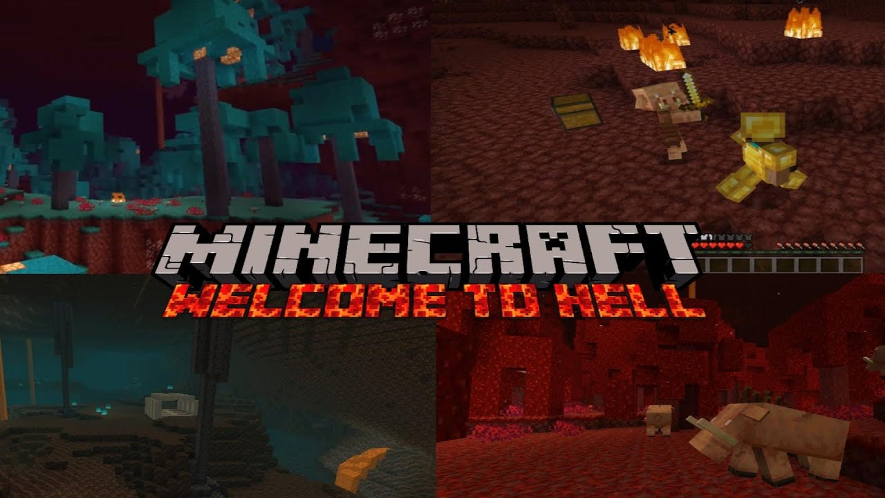 Jucăm Minecraft 1.16 (nether update)