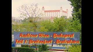 Rad Tour Wien - Budapest, Etappe 1: Breitenfurt - Bratislava