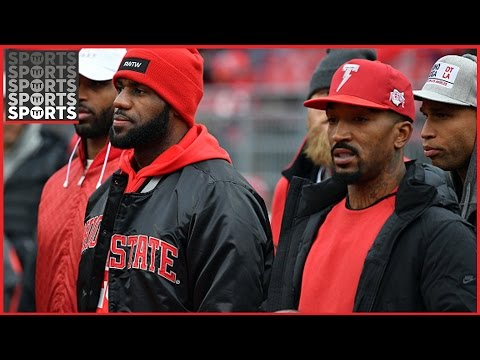 LeBron James And JR Smith Want To Play For Ohio State