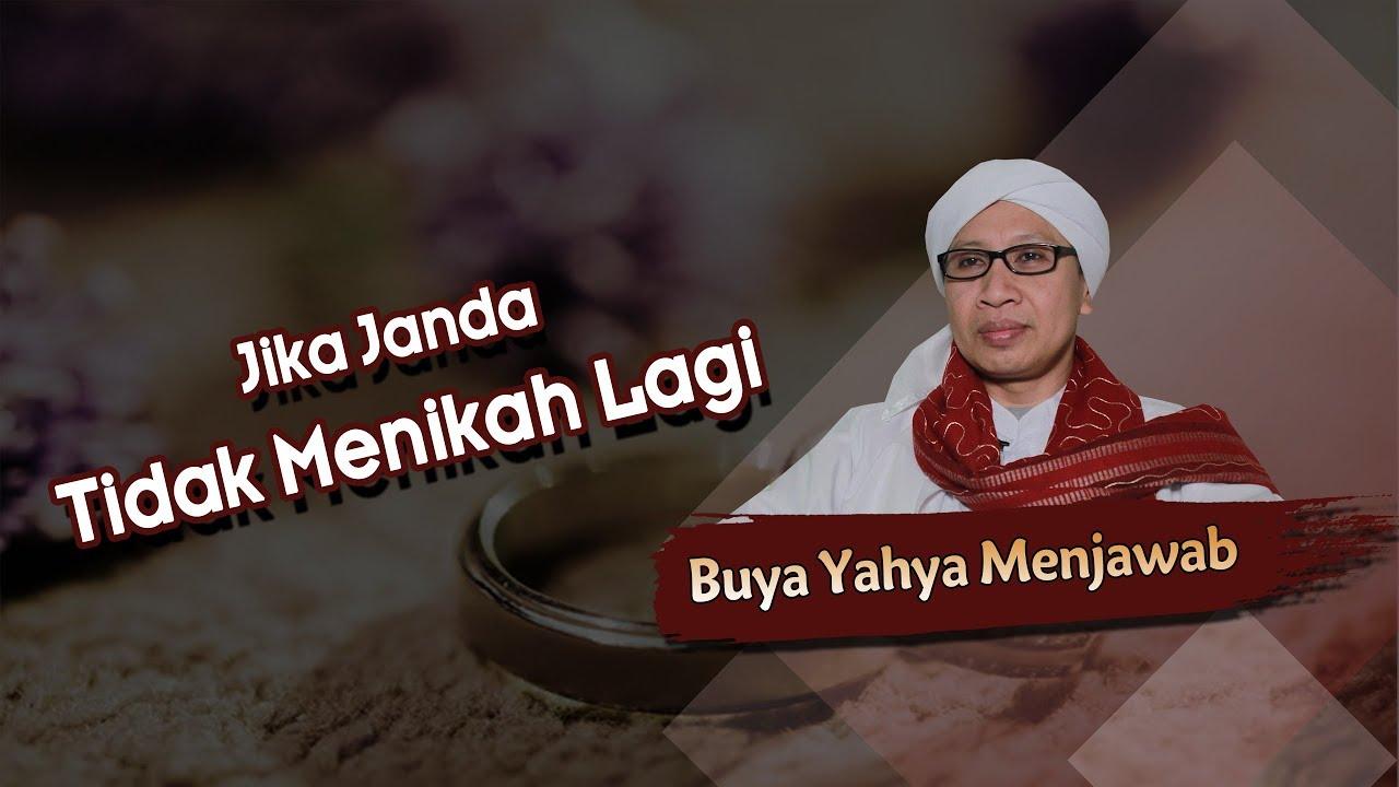 Jika Janda Tidak Menikah Lagi Buya Yahya Menjawab Youtube
