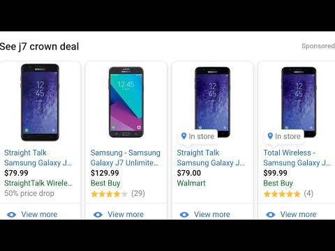 Samsung Galaxy J7 Crown Straight Talk Total Wireless Review Of Specs Cyber Monday Holiday Deal