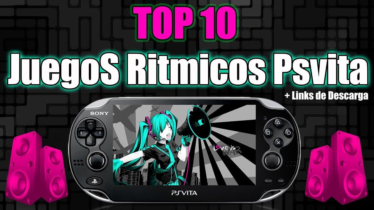 TOP 10 Juegos Ritmicos PSvita + Descargas