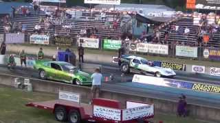 Woodburn Dragstrip 2014, Night of Fire, July 25th Friday