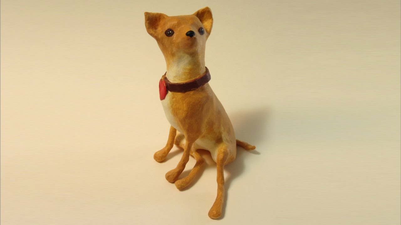 making a wire armature for a paper mache chihuahua youtube