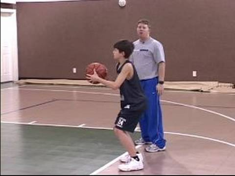 Youth Basketball Shooting Tips : Youth Basketball Free Throws: Hand Release