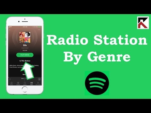 How To Play Radio Stations By Genre Spotify iPhone Mp3